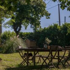 la table du jardin
